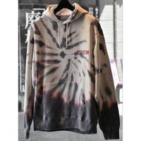 Black Weirdos / Tour Tiedye Hooded Sweatshirt (WHITE)