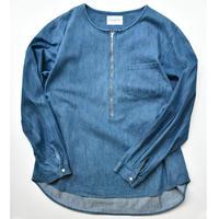 Black Weirdos / Pullover Denim Shirt  (L.Blue)