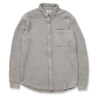 SON OF THE CHEESE / Waffle shirts (GRAY)
