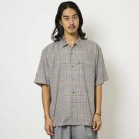 SON OF THE CHEESE / 3/4 Length Shirt (GRAY CHECK)