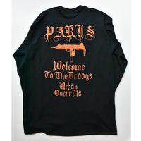 Black Weirdos / PARIS L/S Tee(BLACK)