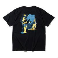 RUTSUBO / Nesshisen T-Shirts(RUTSUBO×YUSUDA)BLACK