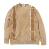 SON OF THE CHEESE / Skins knit (BEIGE)