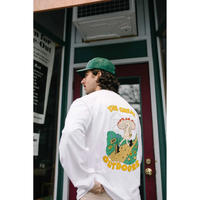 Only NY / Great Outdoors L/S T-Shirt ( White )