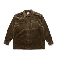SON OF THE CHEESE / BIG CORD FLAP Shirt(OLIVE)