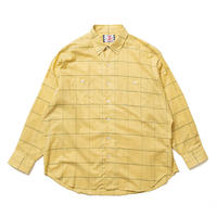 SON OF THE CHEESE / Big Plaid Shirt(YELLOW)