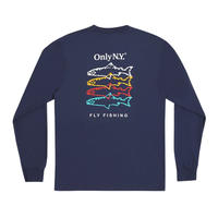 Only NY / Saltwater Guide L/S T-Shirt (Navy)