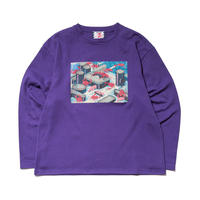 SON OF THE CHEESE / Seafood Revolt LS TEE(PURPLE)