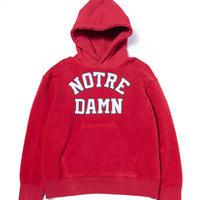Black Weirdos / Reversible Hooded Sweatshirt  ( Red )