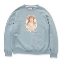 SON OF THE CHEESE / S&W Sweat(L.BLUE)