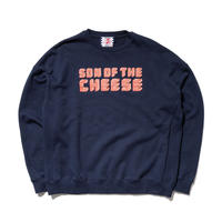 SON OF THE CHEESE / Brick LOGO CREW(NAVY)