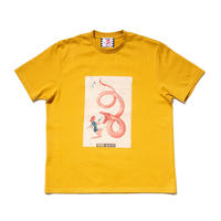 SON OF THE CHEESE / neon queen TEE(YELLOW)