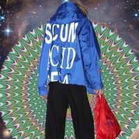Black Weirdos / Cutoff Nylon Mods Coat (BLUE)