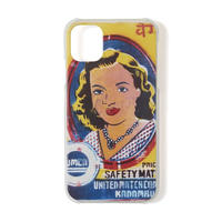 SON OF THE CHEESE / Girl iPhone case (WHITE)