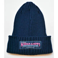 Black Weirdos / Guerilla Knit Cap(NAVY)