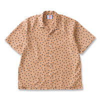 SON OF THE CHEESE / rain dot shirts  (BEIGE)