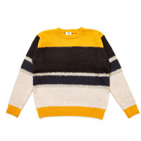 SON OF THE CHEESE / MOHAIR BORDER(MUSTARD)