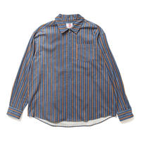 SON OF THE CHEESE /ZIP cord Shirt(BLUE)