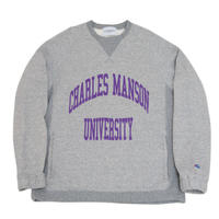 Black Weirdos / CrewNeck Sweatshirt (Heather gray)