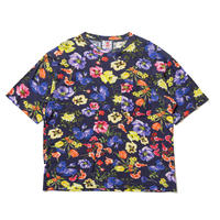 SON OF THE CHEESE / Flower Big Tee(NAVY)