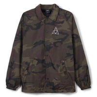 HUF  TRIPLE TRIANGLE COACHES JACKET  (CAMO)