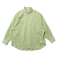 SON OF THE CHEESE / Big Plaid Shirt(GREEN)