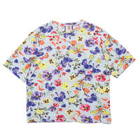 SON OF THE CHEESE / Flower Big Tee(BLUE)