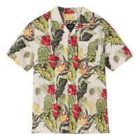 HUF / PARAISO RESORT S/S WOVEN SHIRT (NATURAL)
