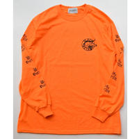 Black Weirdos / PARIS L/S Tee(ORANGE)