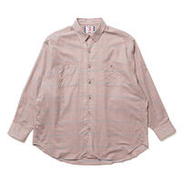 SON OF THE CHEESE / Big Plaid Shirt(PURPLE)