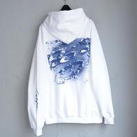 LABRAT×EVANGELION×YAR type01-2 hoodie(White)
