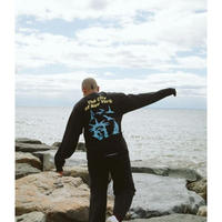 Only NY / Seaport L/S T-Shirt ( Vintage Black )