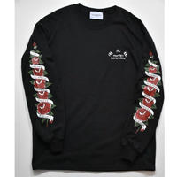 Black Weirdos / ROSE Long Sleeve Tee  (Black)