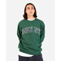 Only NY / Collegiate Crew Sweatshirt (Dark Green)