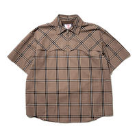 SON OF THE CHEESE / Western SS Shirt(BROWN)