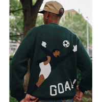 Only NY / GOAL! Knit Sweater ( Dark Green )