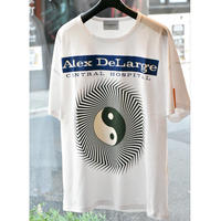 Black Weirdos / Alex DeLarge Hospital Tee(WHITE)