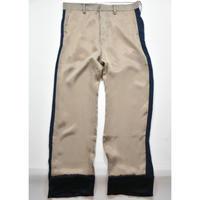 Black Weirdos / Saddam Bowling Pants  / (Beige)