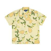 Only NY / Still Life Camp Collar Shirt ( Lemon )