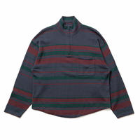 SON OF THE CHEESE / Border Zipup(NAVY)
