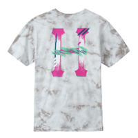 HUF / CLASSIC H WATERCOLOR S/S TEE (WHITE)
