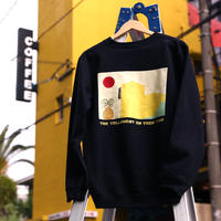 THE YELLOWEST IN THIS TOWN SWEAT illusted by ogawa yohei