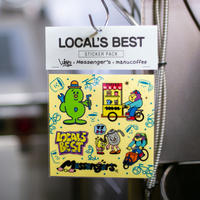 STICKER PACK(LURK × Messenger's × manucoffee - LOCAL'S BEST)