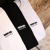 manucoffee ロゴ LONG T-SHIRTS