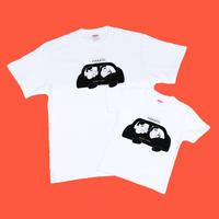 """【子供】はかたにわか """"TAXI"""" T-shirts"""