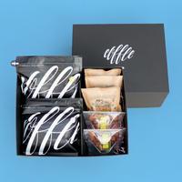 【水出しサマーギフト🏝】コーヒー豆set(ブラック):COE+ララブレンド+水出し+金平糖