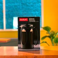 フレンチプレスコーヒーメーカー(8cup / 34 oz / 1L)[bodum Kenya]