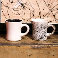 "【HASAMI × manucoffee 006】""Cup of Universe"" [Marble, Pollock]"