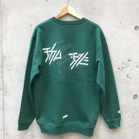 珈琲logo print sweat