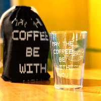 """MAY THE COFFEE BE WITH YOU"" GLASS SET"
